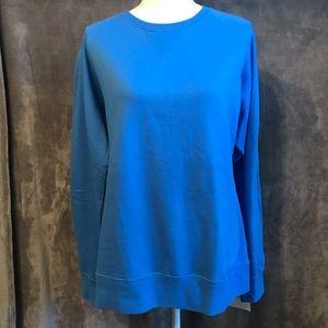 NWT Russell Athletic Blue Crew Sweatshirt XL